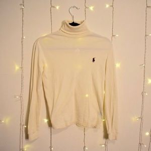 Polo Creme Turtle Neck s